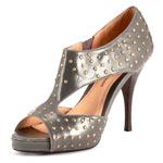 Stud heel grey